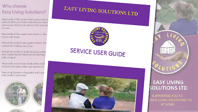 Easy Living Solutions - Download our Service Guide